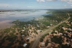 Drones drop medicine and in Malawi.