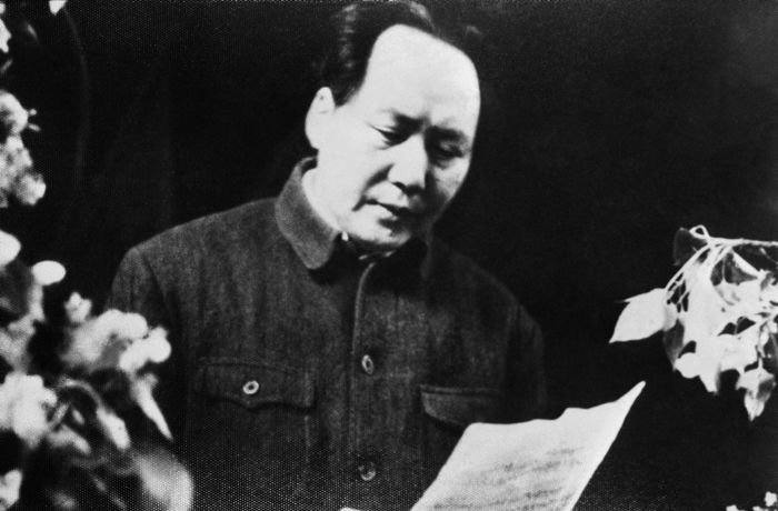 Mao Tse-tung, leader of the Chinese Communist party on April 20, 1949 . (AP Photo)