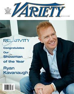 Ryan Kavanaugh on the cover of Variety magazine