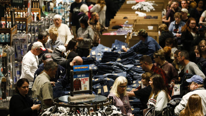 Retailers Fight For Shopper Dollars On Black Friday Financial Times