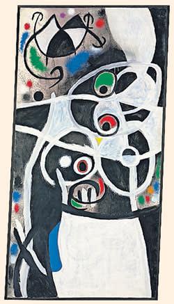 Joan Miró's 'Women and Birds'