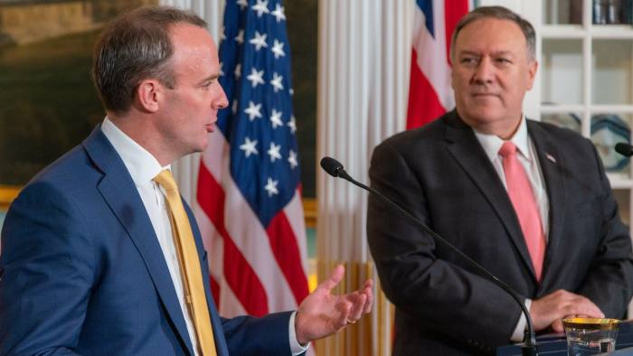 US is ready 'pen in hand' for trade deal with UK, says Mike Pompeo | Financial Times