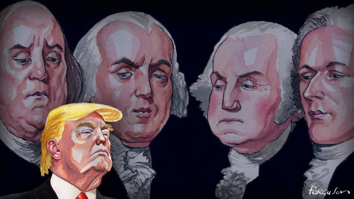 Trump Founding Fathers
