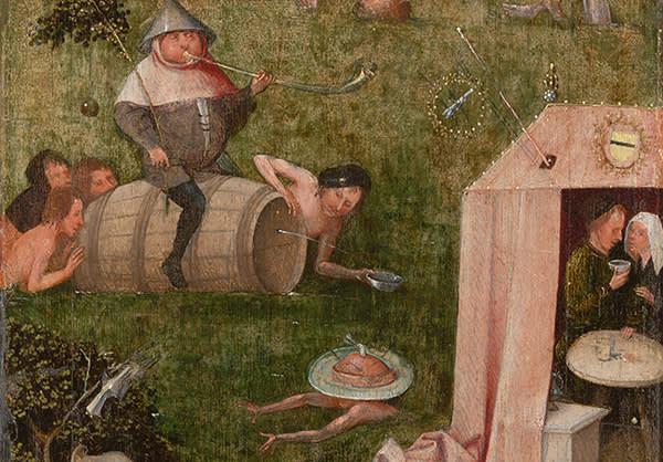 Hieronymus Bosch, Gluttony,