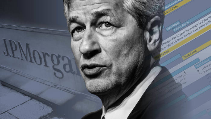 JPMorgan leadership changes fuel talk about top job | Financial Times