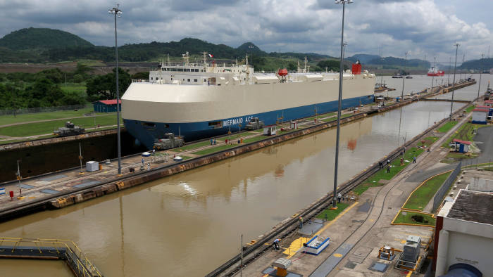 Climate change poses new threat to Panama Canal | Financial Times
