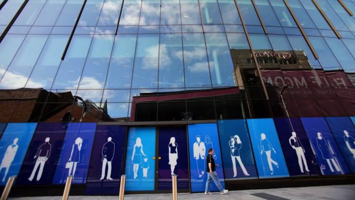 Apple's offices on Half Moon Street in Cork, Ireland