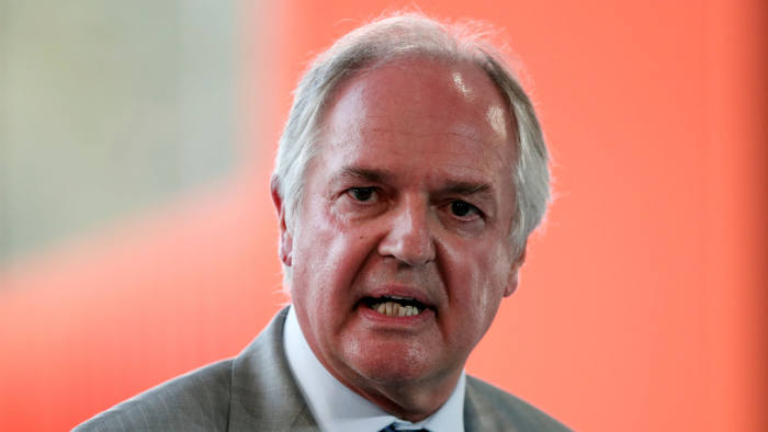 Paul Polman, chief executive officer of Unilever Plc, attends the MEDEF union summer forum on the campus of the HEC School of Management in Jouy-en-Josas, near Paris, France, August 28, 2018. REUTERS/Benoit Tessier