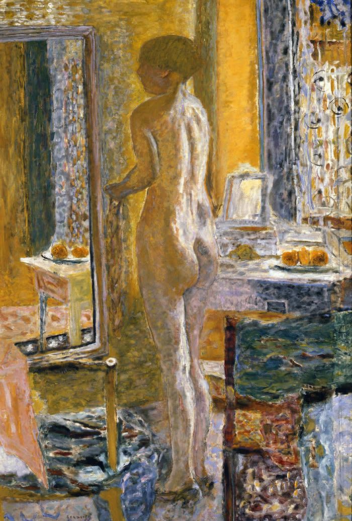 Pierre Bonnard - Nude in front a mirror 1931