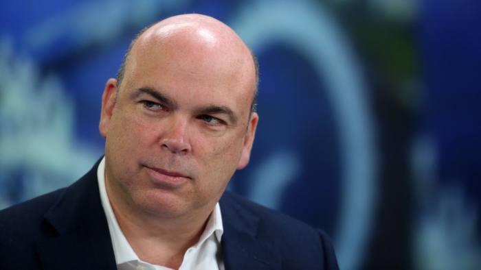 The justice department has accused Mike Lynch, pictured, and Stephen Chamberlain of inflating Autonomy's apparent financial performance