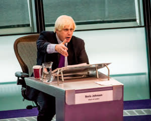Boris Johnson defending controversial plans to close multiple fire stations in London