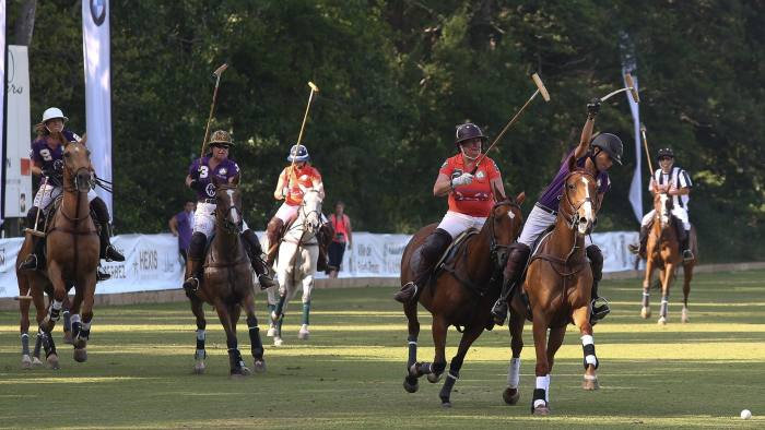 053d86d00 Players at the Polo Club de Gassin in St Tropez, which is owned by Alshair  Fiyaz, on July 27, 2013 (Photo by Marc Piasecki/Getty Images for Charriol)  © ...