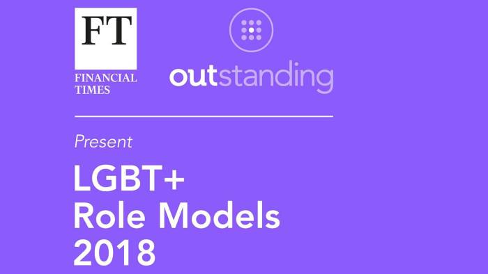 The OUTstanding lists 2018: LGBT+ leaders and allies | Financial Times