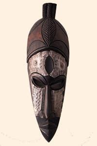 Leonard Wantchekon's African mask
