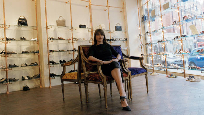 Linda Bennett launched the luxury shoe and clothing brand in 1990 and sold up in 2008