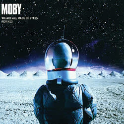 Moby's 'We Are All Made of Stars' 2002 CD cover