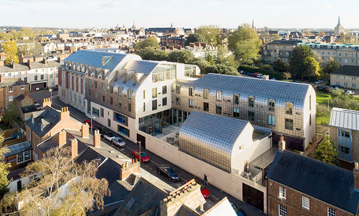 Exeter College Cohen Quad, Oxford University Architects: Alison Brooks Architects Client: Exeter College Size: 6,000 m² Status: On Site Year: 2011–2017