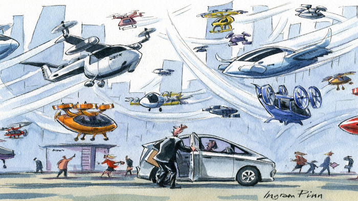 web_Flying taxis