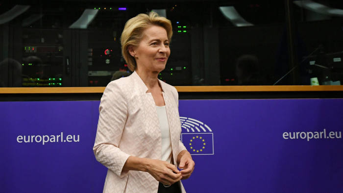 EU commission nominee Von der Leyen to resign as defence minister | Financial Times
