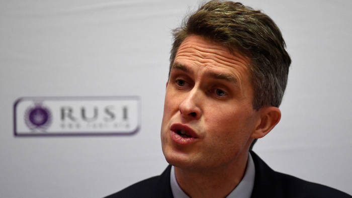 Gavin Williamson's speech to a defence think-tank marked a more aggressive tone as he seeks to carve out a post-Brexit vision for Britain's armed forces