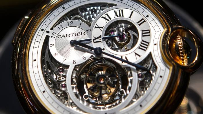 7c79455f836 Richemont profits hit by €200m watches buyback. Swiss luxury ...