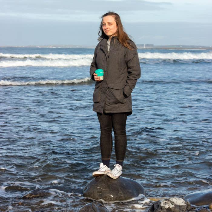 Laura Gaynor at Strandhill West Ireland credit Robert Gaynor