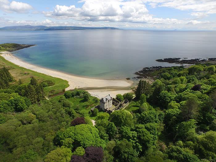 Saddell Bay, Kintyre peninsula, Scotland