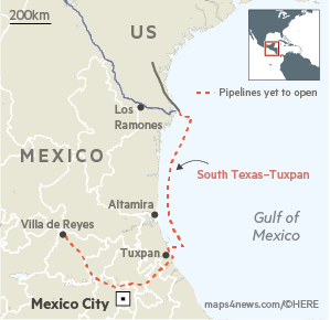 Pipelines dispute adds to Mexico investment fears