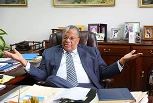 Peter Phillips, finance minister, Jamaica