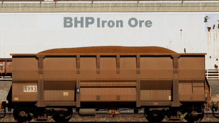 Iron ore prices rise after miners cut output forecasts | Financial Times