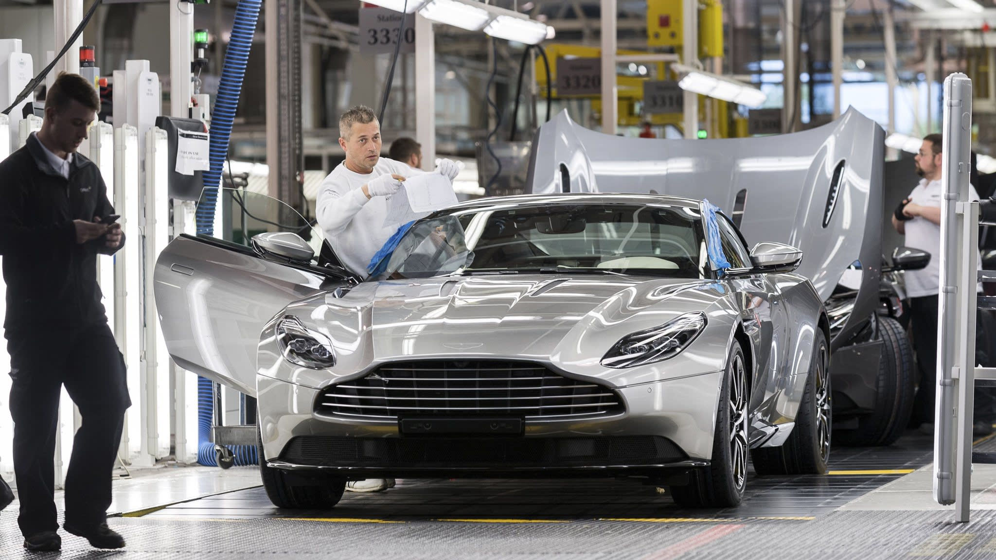 aston martin races to build board ahead of initial public offering