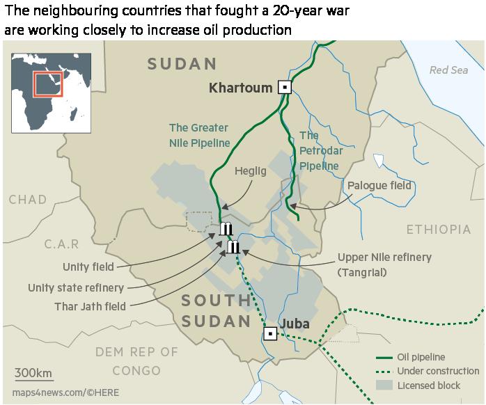 South Sudan pledges to raise oil production to prewar levels