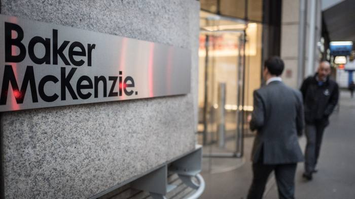 Baker McKenzie partner accused of sexual assault | Financial Times