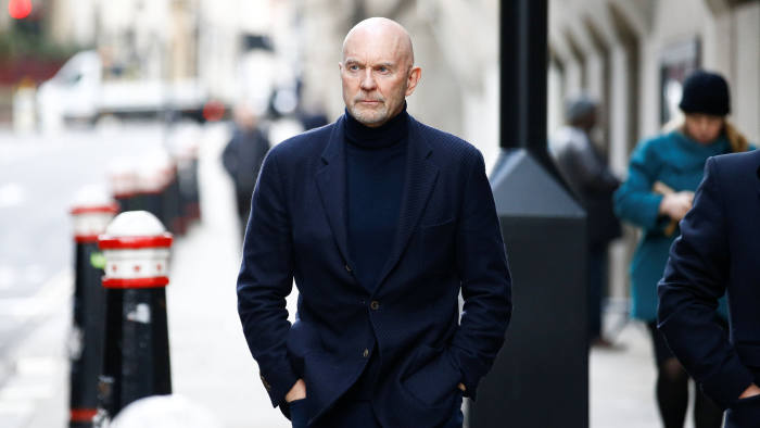 Former Barclays banker Roger Jenkins leaves the Old Bailey Central Criminal Court in London, Britain, February 25, 2020. Picture taken February 25, 2020. REUTERS/Henry Nicholls