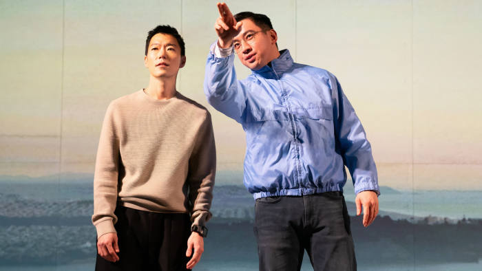 Aaron Yoo, left, and Johnny Wu in 'The Headlands'
