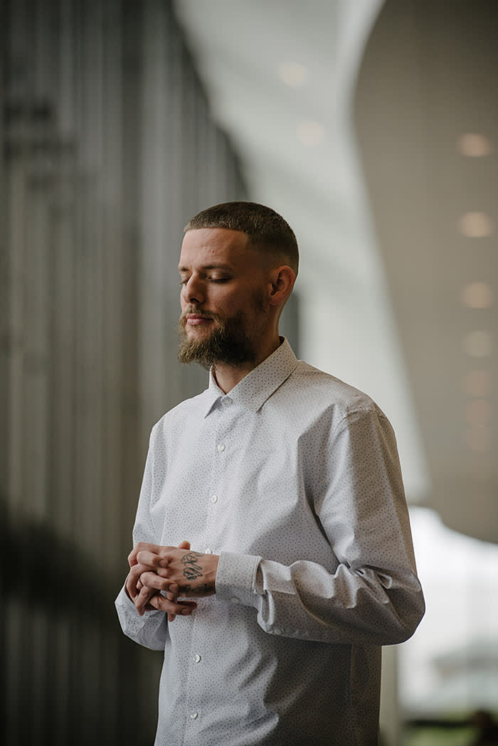 Dustin Rollo, who runs Lakewood's Quest for Authentic Manhood night class: 'Here is a community that only offered love. Nobody told me that I was bad. The world already tells you that every day'
