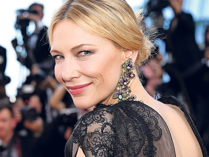 CANNES, FRANCE - MAY 08: Jury president Cate Blanchett attends the screening of