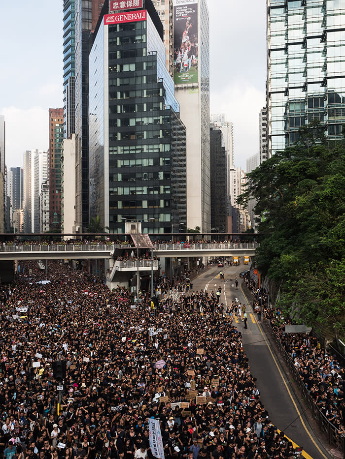 An estimated two million people marched in protest to the proposed extradition bill on June 16 – one of the largest protests in Hong Kong's history