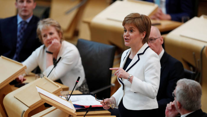 Nicola Sturgeon: 'A choice between Brexit and a future for Scotland as an independent European nation should be offered in the lifetime of this parliament'