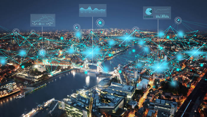 Digital Twin Cities - London. Press image from Bentley Systems