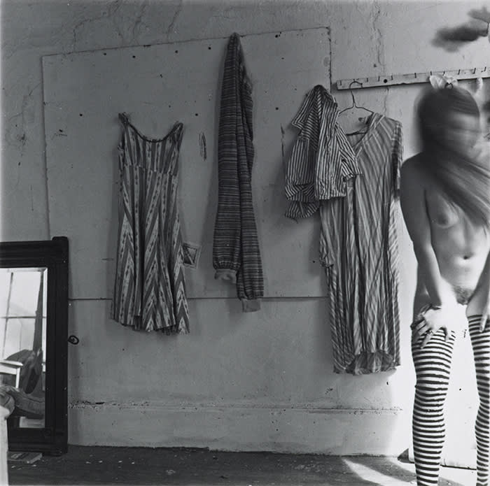 Francesca Woodman, 1958-1981 Untitled, Providence, Rhode Island 1975–1978 Gelatin silver print 109 x 109 mm ARTIST ROOMS Acquired jointly with the National Galleries of Scotland through The d'Offay Donation with assistance from the National Heritage Memorial Fund and the Art Fund 2008 © Courtesy of Charles Woodman/Estate of Francesca Woodman