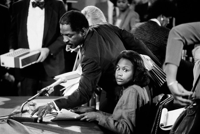 Anita Hill during the 1991 hearings of Clarence Thomas, the US Supreme  Court nominee she accused of sexual harassment © The New York  Times/Redux/Eyevine