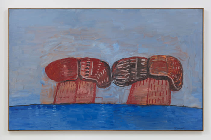 Philip Guston's 'Shoe Head' (1976) was sold by Hauser & Wirth sold for $7.5m