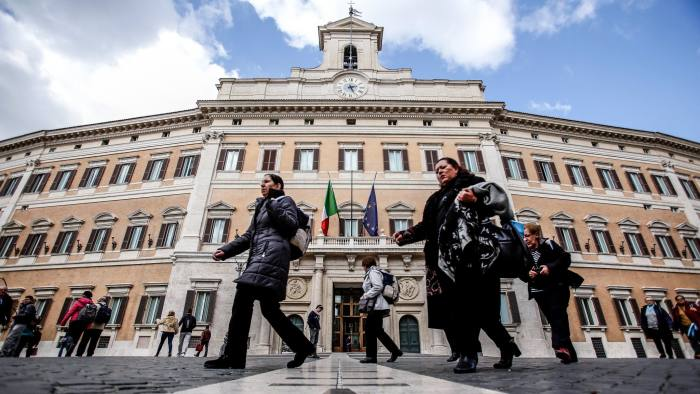Political turmoil has pushed up Italy's bond yields since two populist Eurosceptic parties formed a coalition government in late May