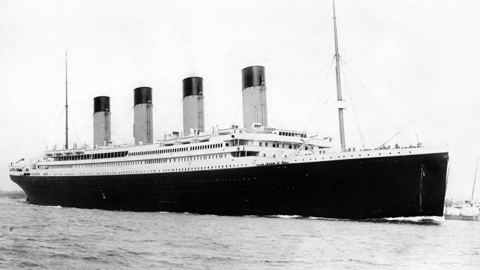 File photo dated 01/01/1912 of RMS Titanic which was built at the Harland and Wolff shipyard in Belfast which is due to be placed into administration later on today. PRESS ASSOCIATION Photo. Issue date: Monday August 5, 2019. See PA story ULSTER Shipyard. Photo credit should read: PA/PA Wire
