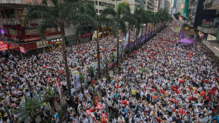 US says Hong Kong 'special status' at risk over extradition bill