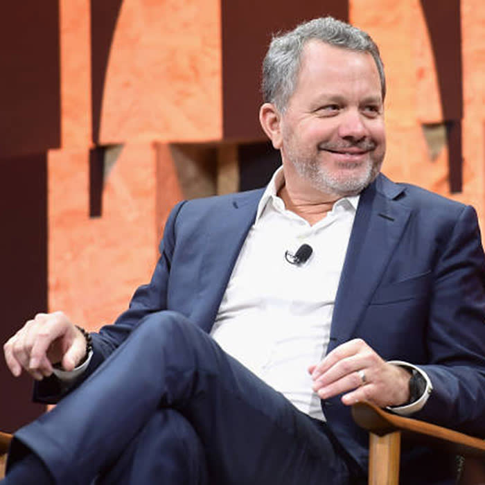 BEVERLY HILLS, CA - OCTOBER 03: Co-Founder and CEO of the Rise Fund and Co-Founder and Managing Partner of TPG Growth Bill McGlashan speaks onstage during Vanity Fair New Establishment Summit at Wallis Annenberg Center for the Performing Arts on October 3, 2017 in Beverly Hills, California. (Photo by Matt Winkelmeyer/Getty Images)