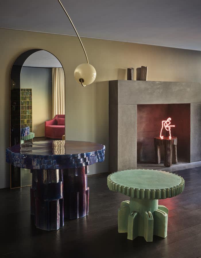 'Striker Table' by Floris Wubben (2018) at The Future Perfect, Design Miami