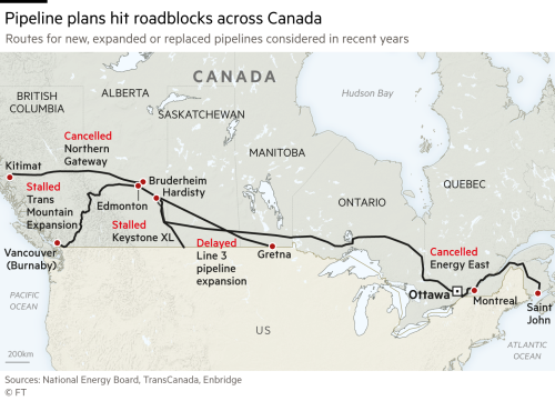 Canada approves construction of Trans Mountain pipeline
