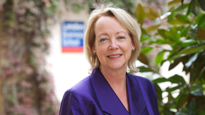 Lynda Gratton is a professor at the London Business School from PR